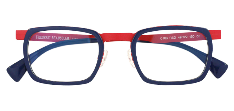 FREDERIC BEAUSOLEIL C106 col*Red