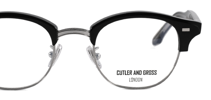 CUTLER AND GROSS M:1355 col*01 Black/Silver