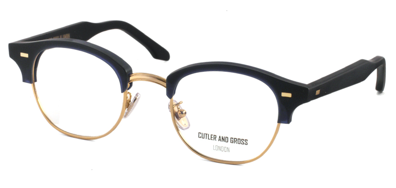 CUTLER AND GROSS CGOP1355 col*04 Matt Classic Navy Blue/Gold
