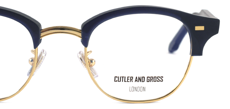 CUTLER AND GROSS CGOP1333 col*04 Matt Classic Navy Blue/Gold
