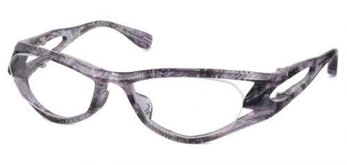 FACTORY900 FA-342 col.490 clear purple pattern
