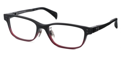 JAPONISM JP-34 col.03 Matt Black/Red Half