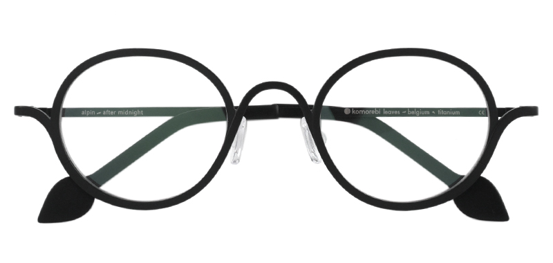 Komorebi Eyewear Alpin col.After Midnight