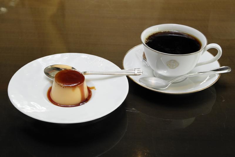 ミニプリン、コーヒー