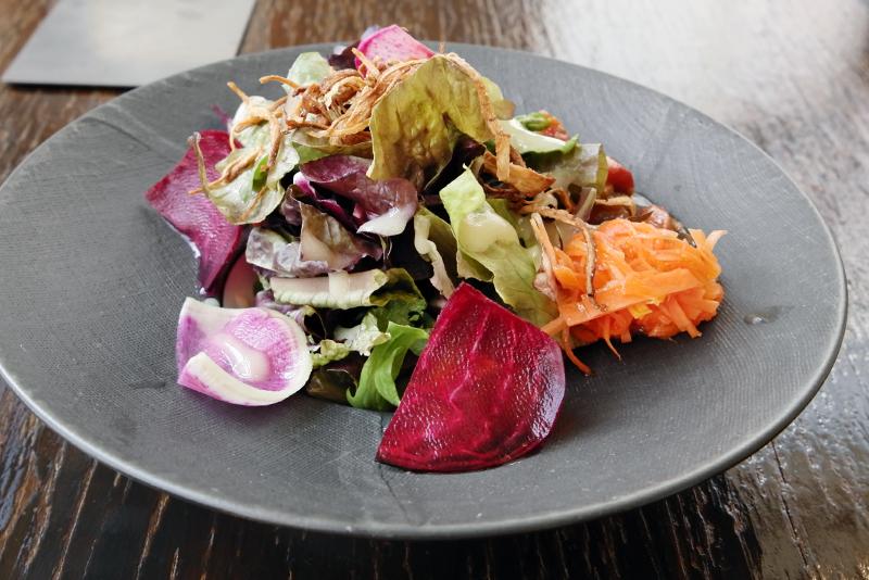 12種類の野菜のサラダ