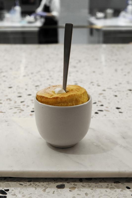 塩バニラスフレ