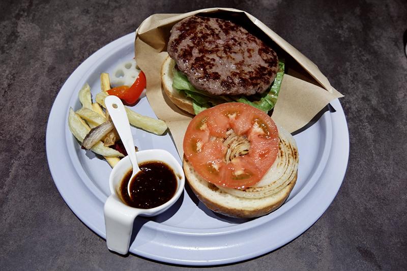 常陸牛100%ハンバーガー160g