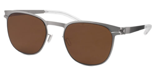 MYKITA EASTON col.470 Matt Silver/Amber Brown