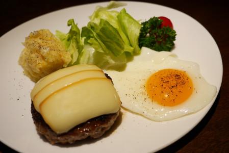 煙事の仙台牛薫製ハンバーグ