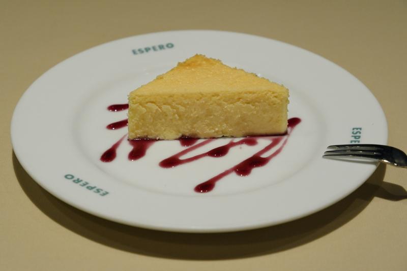 チーズのタルト バスク風