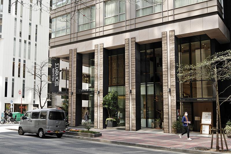 ソラリア西鉄ホテル銀座の2階