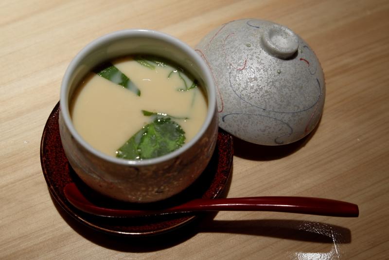 寿雀卵の茶碗蒸し