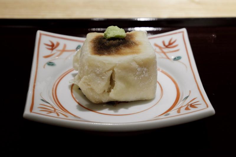 焼きゴマ豆腐
