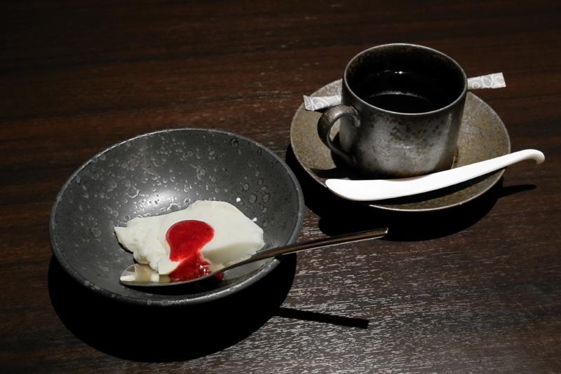 パンナコッタ、コーヒー