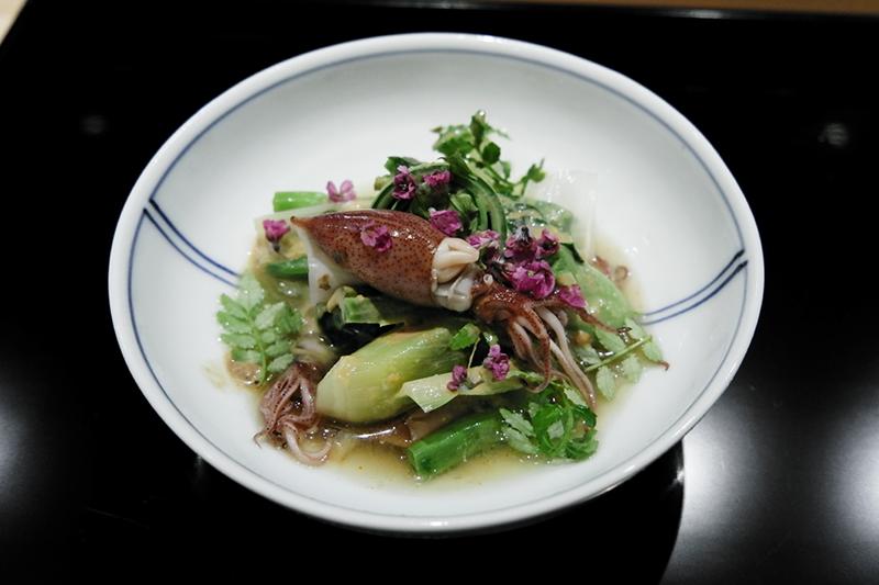 春野菜のお浸しサラダ