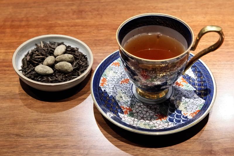 焙じ狭山茶、キャラメルナッツ
