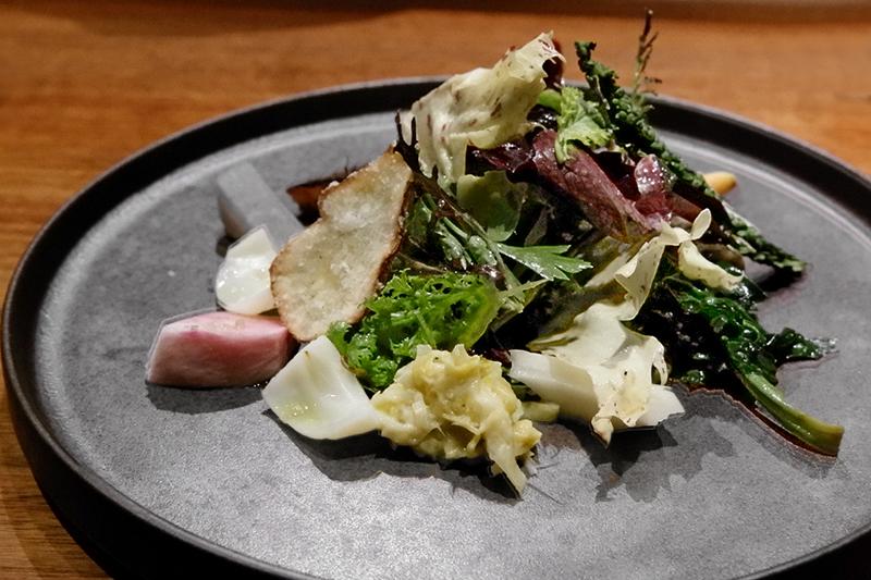 畝田さんのお野菜を色々な調理法で