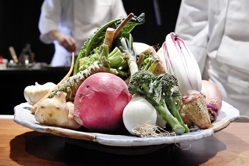 畝田さんのお野菜