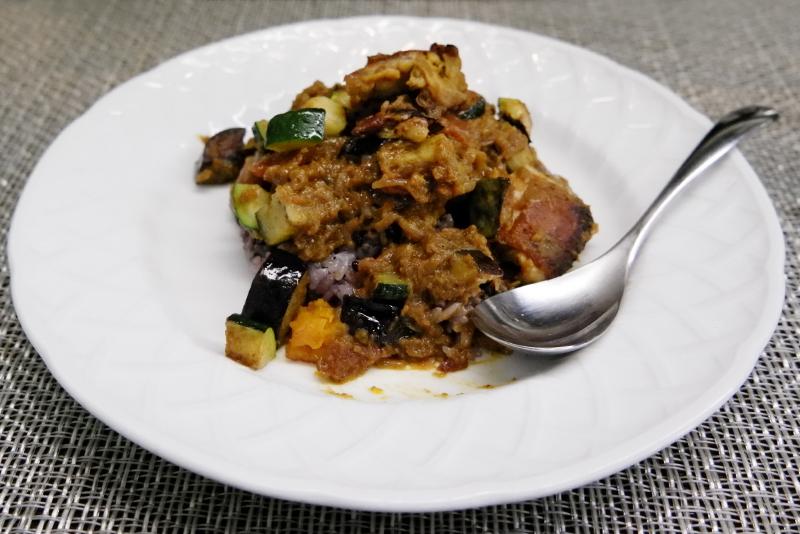 スパイシー チキン&野菜カレー