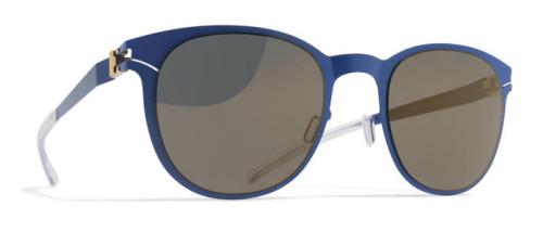ブルーのエレガントなサングラス