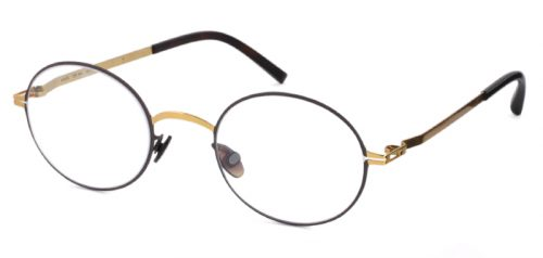 MYKITA NEA col*122 Dark Brown/Gold