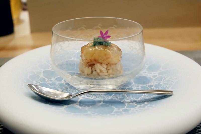 ボタンエビ寿司