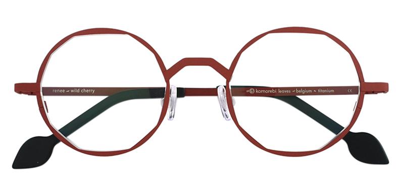 Komorebi Eyewear RENEE col.Wild Cherry