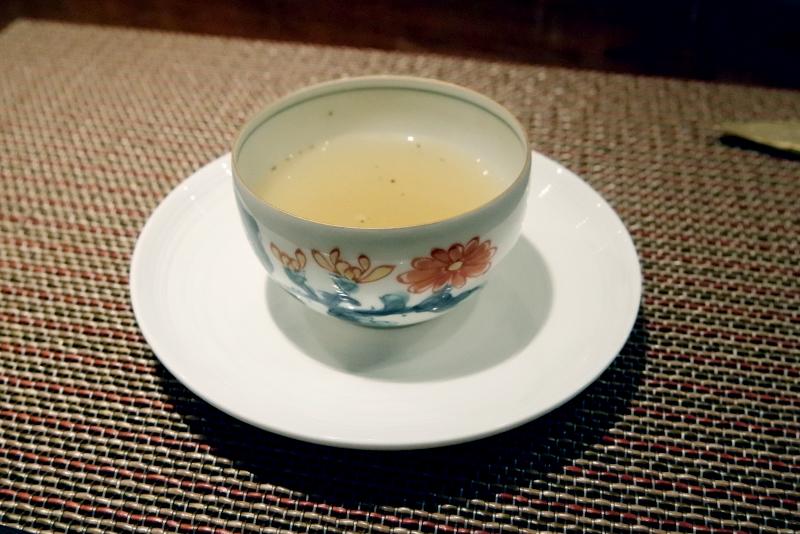 銀座すゞ木特製 貝のスープ