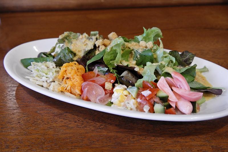 彩り野菜の盛り盛りサラダプレート