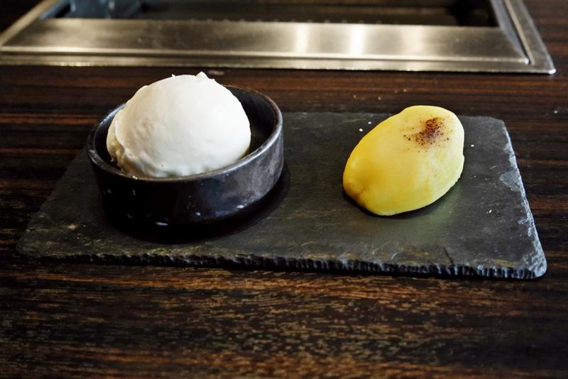 すぃ〜とポテト&バニラアイス