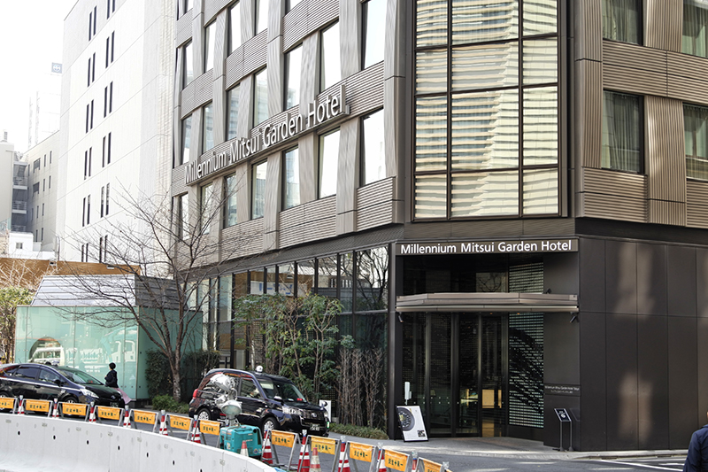 ミレニアム 三井ガーデンホテル東京の地下1階